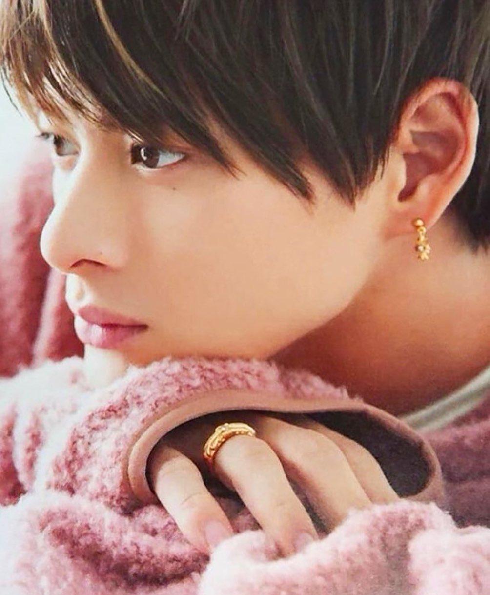 平野紫耀 zip 指輪